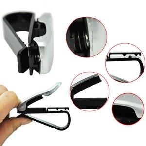 Image 5 - Luxus Auto Brillen Halter Clip Sonnenbrille Halter Rahmen Universal Auto Styling Gläser Clip Autos Zubehör