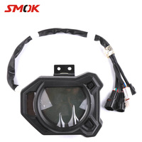 SMOK Motorcycle LCD Digital Speedometer Odometer Tachometer Fuel Consumption Table Meter Speed Sensor For Yamaha BWS R 125