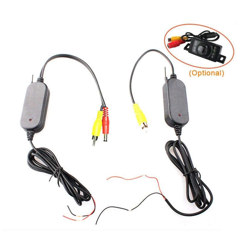 2,4 Ghz Wireless Video Sender Empfänger Modul Für Anschluss Auto Backup-Reverse Rückfahrkamera und Monitor