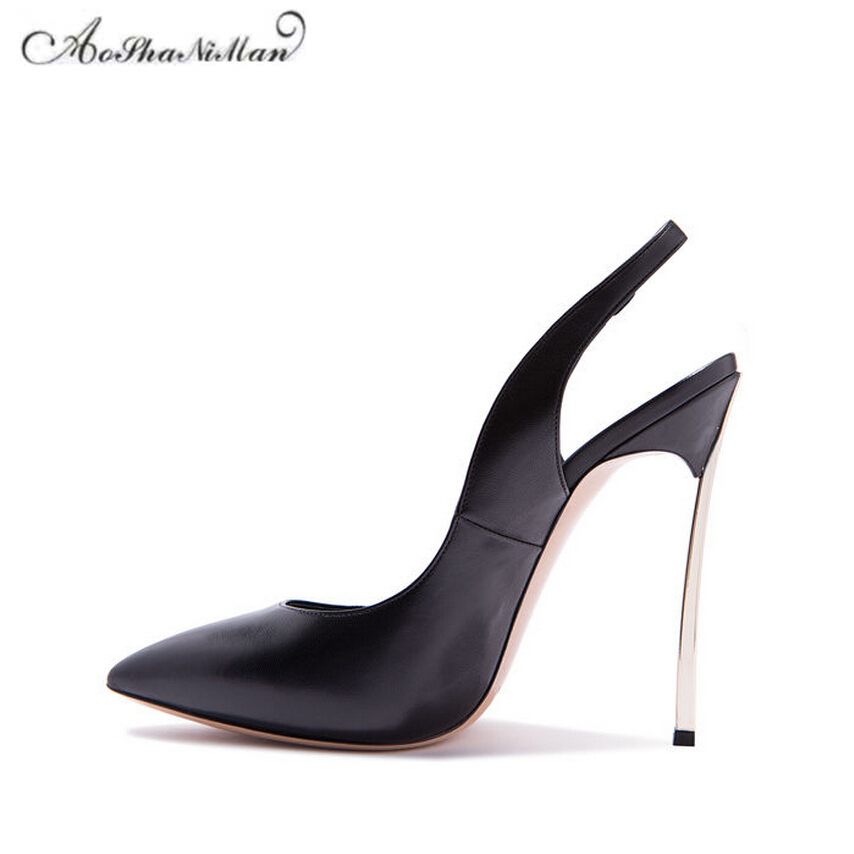 Newest 2018 spring Pointed Toe heels Women sexy party Pumps Fashion Ladies empty heel dress shoes 3 colors genuine leather heels 2017 new sexy pointed toe high heel women pumps genuine leather spring summer shoes woman fashion dress party casual shoes pumps