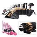 New arrival! 24 Pcs Professional Makeup Brushes Cosmetic Powder Foundation Make Brush Set