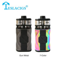 Original Teslacigs Tesla CP COUPLES 220W Electronic Cigarette Kit with CP COUPLES box mod and Dual CP Couples RDTA Tanks