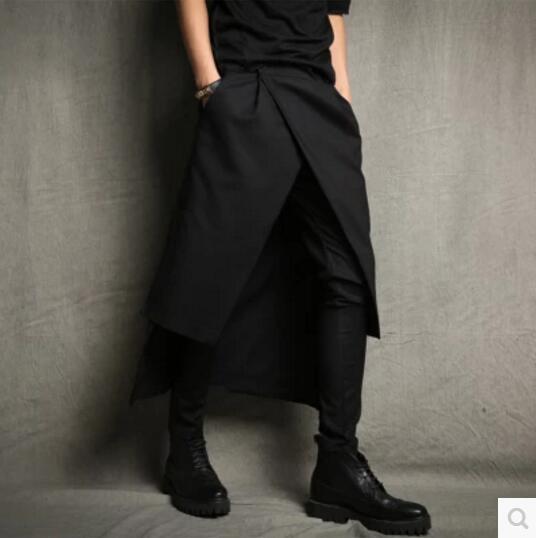Costumes Clothing Harem-Pants Slim Nightclub Men's Plus-Size Fashion New Singer 27-44