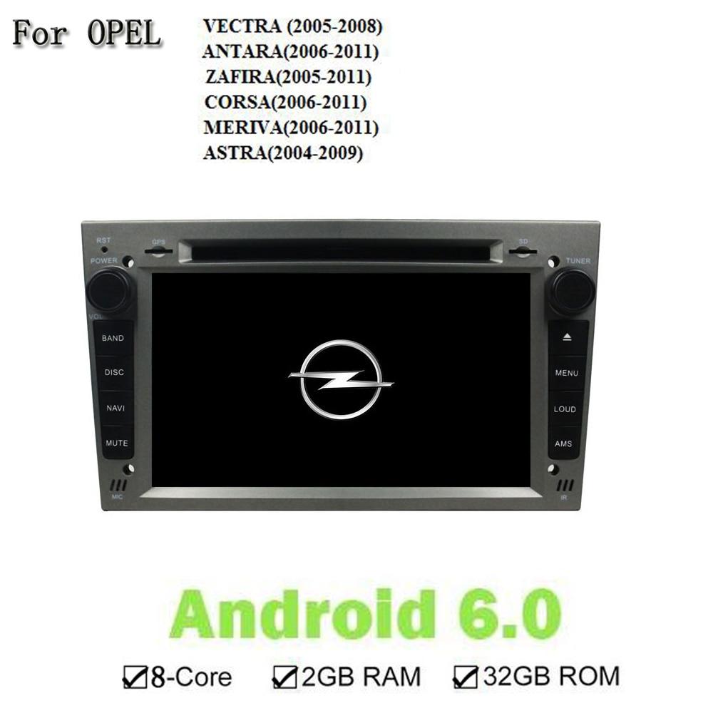 Android 6.0.1 7 дюймов 1024*600 GPS Navi Мультимедийная Система Автомобиля DVD-Video Player Для OPEL VECTRA ANTARA ZAFIRA CORSA MERIVA ASTRA