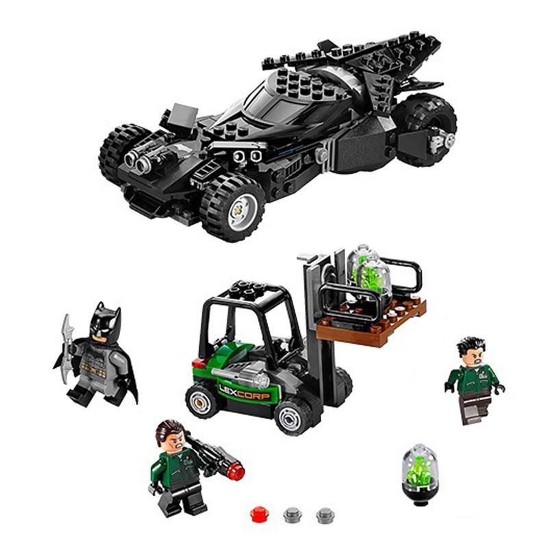 Super Heroe Batman Race Truck Car Model Technic Building Block SetS DIY Toys Compatible With Legoingly Batman 608pcs race truck car 2 in 1 transformable model building block sets decool 3360 diy toys compatible with 42041