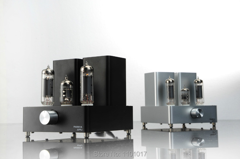 APPJ PA0901A tube amp miniwatt N3 EL84+12AX7 HIFI EXQUIS desktop PC amplifier appj pa1502a tube headphone amplifier hifi exquis 6n4 12ax7 6p6p 6v6 lamp headset amps