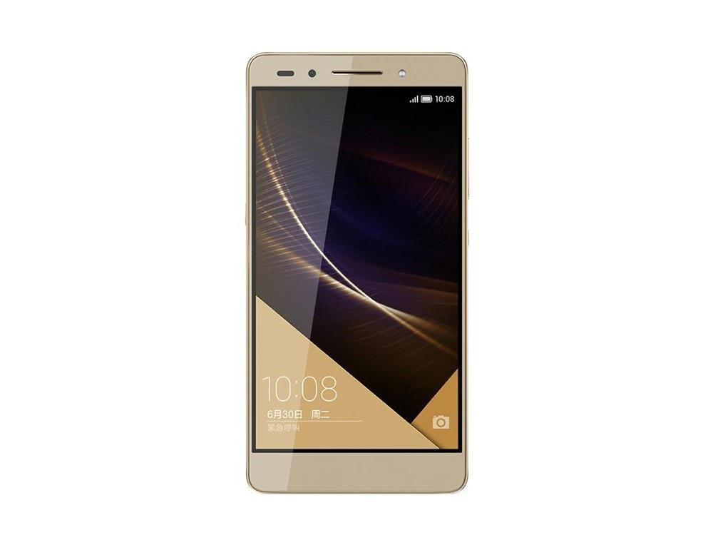 """Международные версии HuaWei Honor 7 L01 4G мобильный телефон стандарта LTE на ОС Android 5,0 5,2 """"FHD 1920X1080 3 ГБ Оперативная память 16 ГБ Встроенная память 20.0MP отпечатков пальцев"""