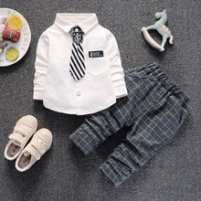 BibiCola boys clothing sets spring autumn children tracksuit suit kids boys casual tops t-shirts+pant baby sets for boys outfits