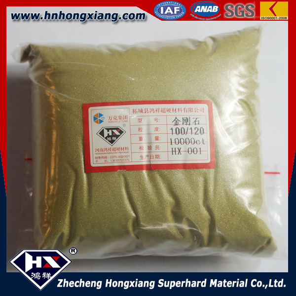 Aspiring 40/45 Mbd6 Industrial Synthetic Rough Diamond For Making Diamond Drill Bit Tools
