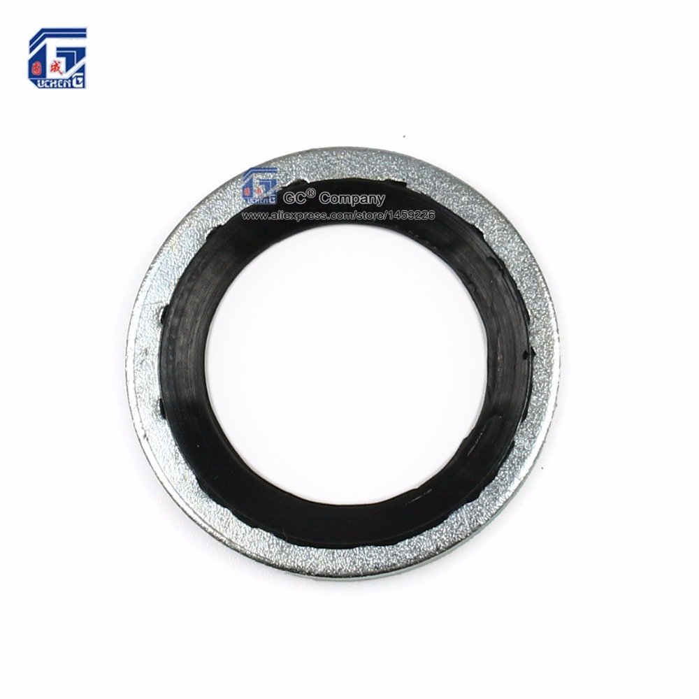 ( 23.6 x 15.5 x 1.3 mm) Compressor Seal Washer Gasket for GM (General Motors) Cars ...