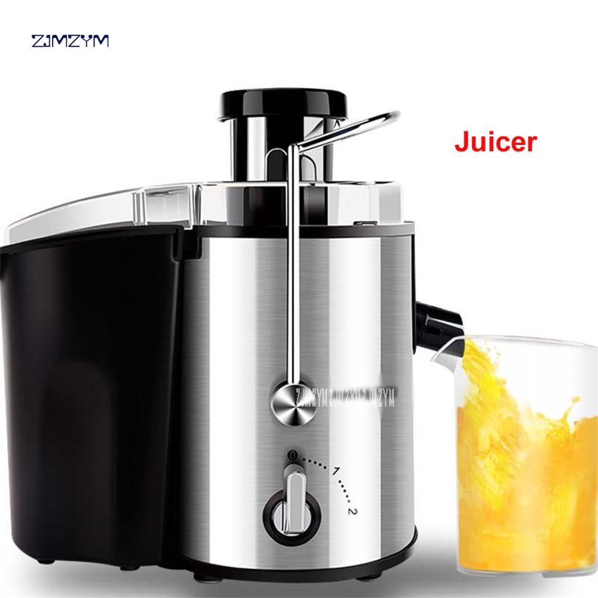 все цены на 1PC JYZ-D55 Electric Household Juicer Fruit Citrus Generation Juicer Make 250W Power Food Mixer Blender Juice Sugarcane Machine