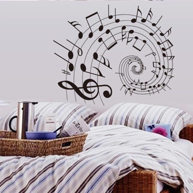 Note Creatieve Muziek klaslokaal muurstickers student kind woonkamer ...