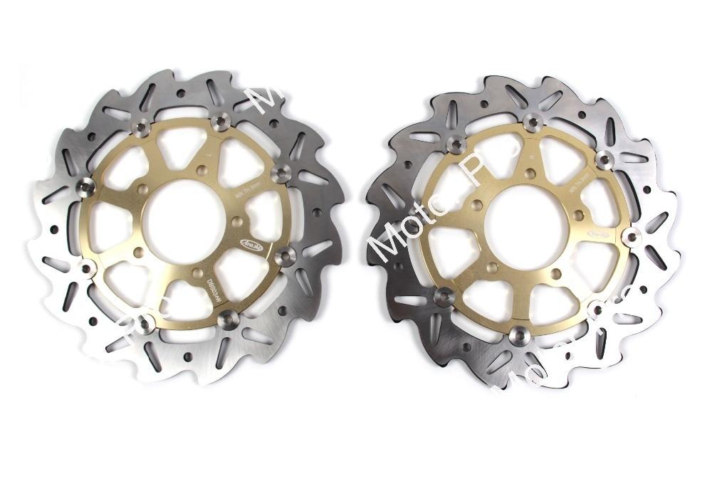 VERSYS650 Front Brake Disc FOR KAWASAKI VERSYS 650 2007 2008 2009 2010 2011 2012 2013 2014 Motorcycle Brake Disk Rotor bjmoto motorcycle front brake fluid reservoir cap for kawasaki z800 z900 z650 er6n f versys650 ninja 650