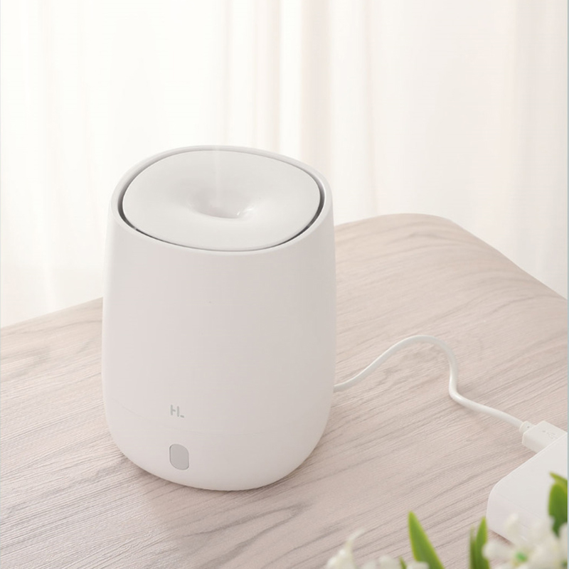 Image 2 - 120ML USB Mini Air Humidifier Ultrasonic Essential Oil Aroma Diffuser for Xiaomi Youpin Mute LED Light Mist Maker for Home-in Humidifiers from Home Appliances