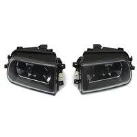 1 Pair Car Fog Lights Housing Driving Spot Light Black Housing For BMW E39 5 SERIES Z3 1997 2000
