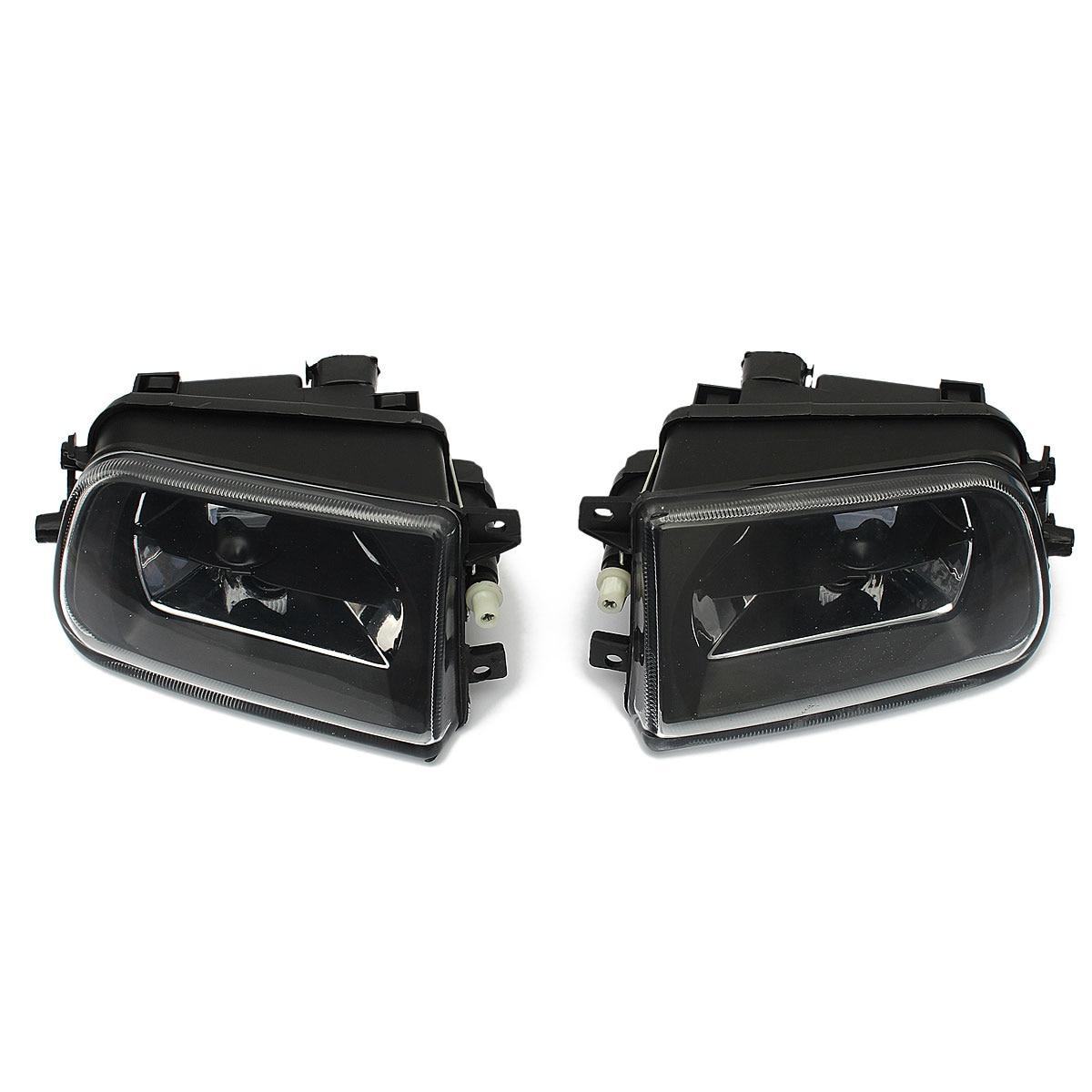 1 Par de Carro Luzes de Nevoeiro Habitação Luz do Ponto de Condução Caixa Preta Para BMW SÉRIE 5 E39 Z3 1997-2000