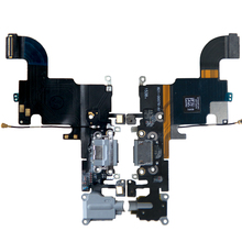 AIKUYI Original Charging Flex Cable For iPhone 6s USB Charger Port Dock Connector With Mic