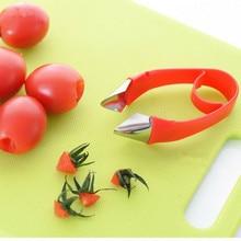 1 шт. инструмент для удаления чашелистиков с клубники топ лист гаджет для удаления томатные стебли нож для удаления фруктов стебля портативная кухонная принадлежность ок 0481