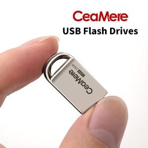 Image 4 - Ceamere CD04  USB Mini Flash Drive 8GB/16GB/32GB/64GB Pen Drive Metal Pendrive USB 2.0 Flash Drive Memory stick USB disk 1GB/2GB