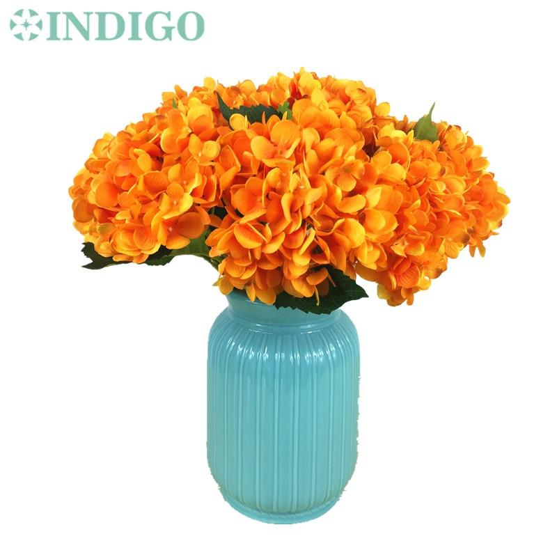 Wholesale Flowers For Weddings Events: Aliexpress.com : Buy Wholesale 100pcs Orange Hydrangea