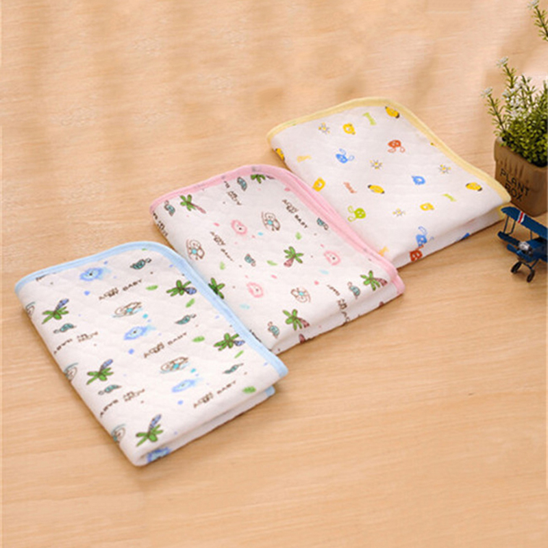 Reusable Baby Infant Diaper Urine Mat Waterproof Sheet Bedding Changing Pad Play Stroller Crib Car Mattress Pad Cover size 64*53