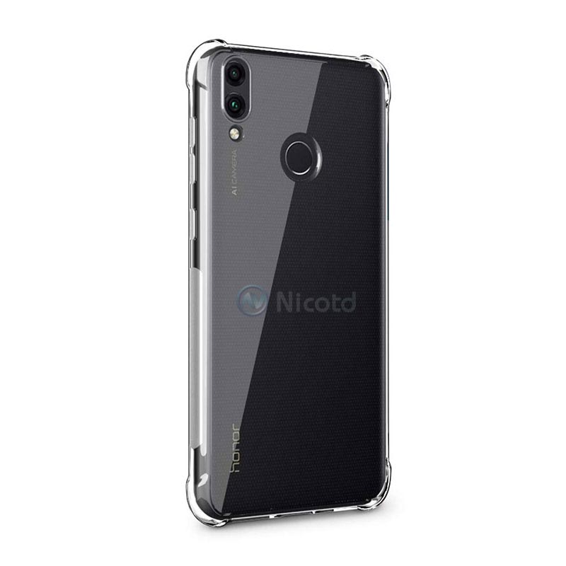 Full Protective Anti knock Airbag Silicone Case for Huawei Honor 8C 8X Max 8C View 20 Clear TPU Cover for Honor 9Lite 9i V9 Play in Phone Bumpers from Cellphones Telecommunications