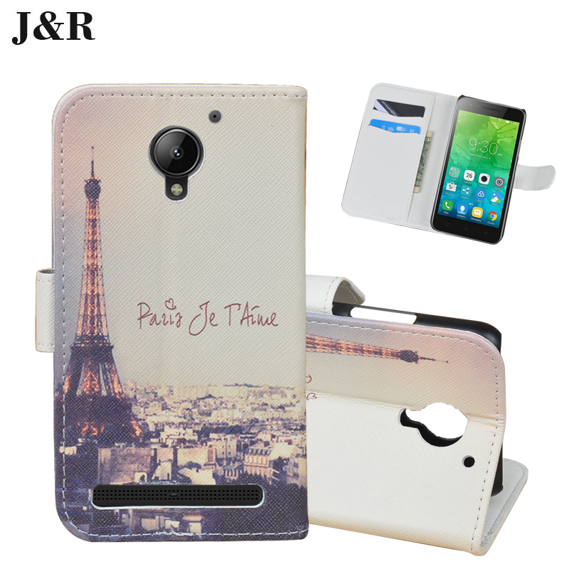 super popular c1ace 4c85b US $4.99 |J&R Brand Case PU Leather Cover for Lenovo C2 Vibe C2 K10A40 Good  Cover Case Painting Book Style Case with Card Holder-in Wallet Cases from  ...