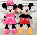 40cm new High Quality cute Mickey plush toys Minnie doll one pair of lovers 2pcs/lot