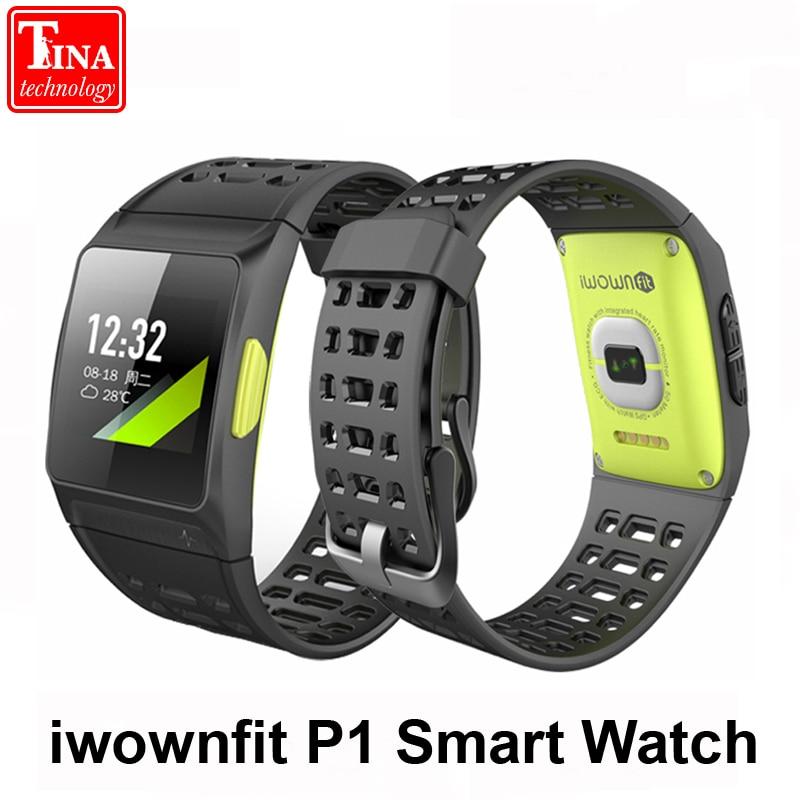 Здесь продается  iwownfit P1 color screen Smart Watch Heart Rate ECG detection HRV analysis built-in GPS IPS iwown Multiple sports modes Bracelet  Бытовая электроника