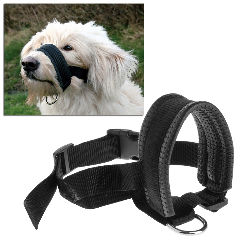 Let s Pet Pet Dog Padded Head Collar Gentle Halter Leash Leader Stop Pulling Training Tool Warms house