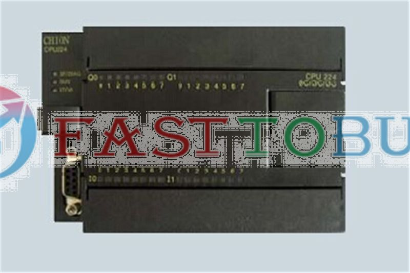 PLC CPU CPU 224 DC/DC/DC 24VDC  14DI 10DO transistor replace for S7-200 6ES7 214-1AD23-0XB0 One year warranty