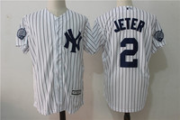 MLB Men S New York Yankees 2 JETER Player Edition Jersey Baseball Jersey MLB Jersey Free