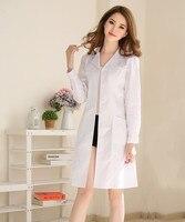 New models Stylish and elegant Hospital nurse uniform Summer Short sleeve Medical Clothing Beautician Pharmacy White coat