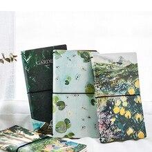 Журнал для путешествий художественная лесная кожа дневник записная книжка Midori стандартный размер винтажный блокнот для путешественника удобный дизайн 64 листа