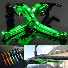 For Kawasaki ZRX1100 ZRX1200 1999-2007 Aluminum Motorbike Motorcycle Brake Clutch Levers Foldable Extendable Adjustable