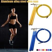 цена на 3 Meters Gym Skipping Skip Adjustable Jump Rope Crossfit Fitnesss Equimpment Exercise Workout