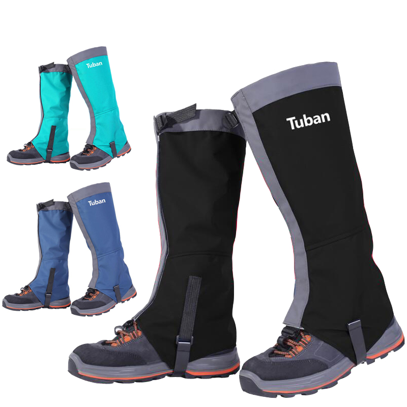 New Outdoor Snow Kneepad Skiing Gaiters Hiking Climbing Leg Protection Guard Sport Safety Waterproof Cycling Shoes Covers cycling shoe covers - title=