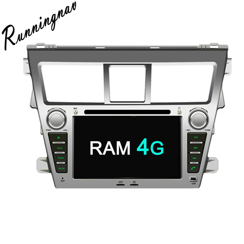 Android 8.0 Octa Core PX5/PX3 Fit TOYOTA VIOS /Belta 2007 - Car DVD Player Navigation GPS Radio
