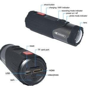Image 4 - Оригинальная Спортивная экшн видеокамера SOOCOO S20WS с Wi Fi, водонепроницаемая, 10 м, 1080 P, Full HD, велосипедный шлем, мини, для спорта на открытом воздухе, DV