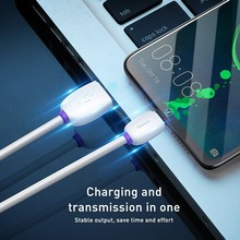 Baseus USB Type C Cable 40W 4A 1m TPE Quick Charging Data Sync Charger Cord Fast USB C Cable for Huawei P30 Pro Galaxy S10 S9