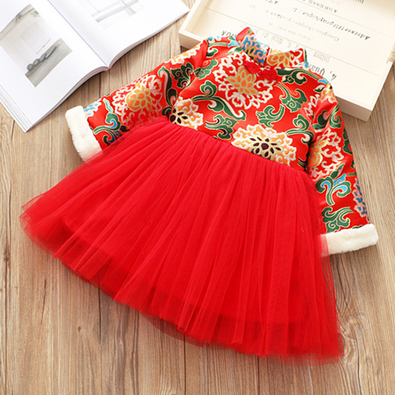 2018 New Arrival Special Offer Cotton Pattern Children's Clothing 1-5 Years Old Girls Long-sleeved Dress Plus Printing Pompon offer wings xx2449 special jc australian airline vh tja 1 200 b737 300 commercial jetliners plane model hobby