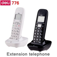 [ReadStar]Deli 776 Cordless Extension telephone office home extension telephone caller ID display work with 791 mother telephone