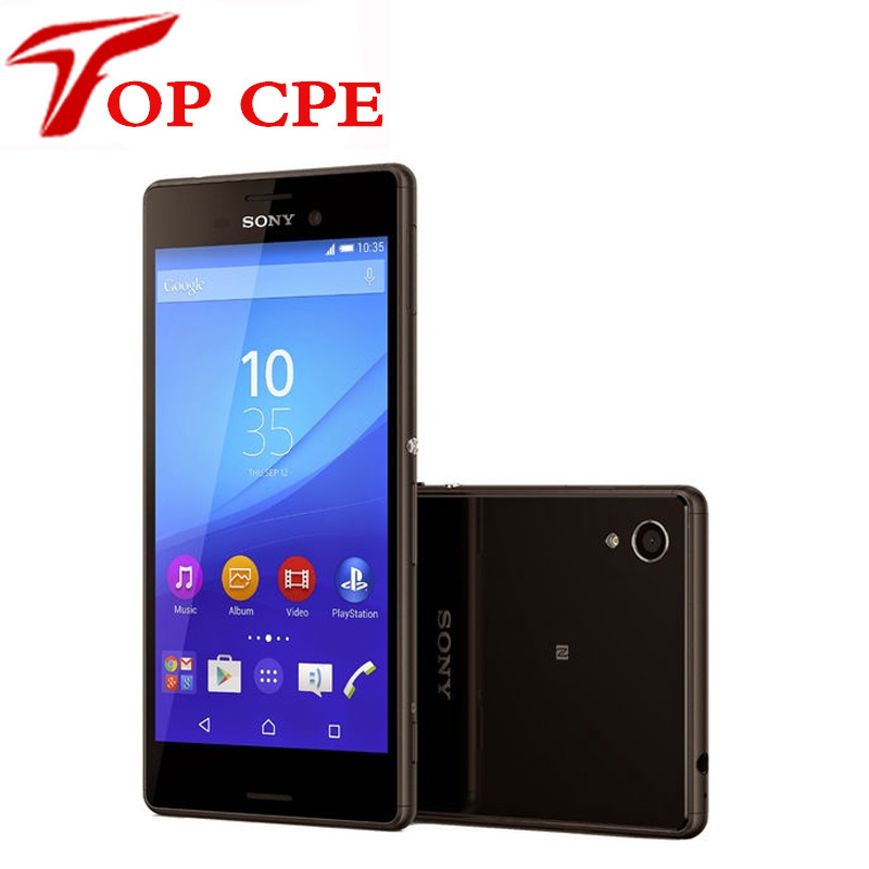 "Цена за Восстановленное в исходном разблокирована sony xperia m4 aqua 3g & 4 г android quad core 13mp камера 2 ГБ ram 5.0 ""wi fi gps сотовый телефон"