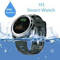 H1 IP68 Waterprrof Outdooors Step Smart Watch Heart Rate WIFI Bluetooth Pedometer GPS Tracker Intelligent Watch