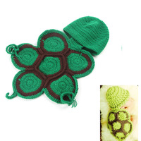 Baby Blanket Wraps Stretch Knit Handmade Crochet Wrap Newborn Tortoise Photography Prop Wraps Swaddlings