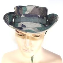 Тактическая охотничья шляпа джунгли военные камуфляж Боб камуфляж шляпа Рыбалка барбекю Охота круглый Солнцезащитная шляпа с широкими полями ведро защитные шляпы