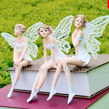 Ange fille famille décoration ornements résine artisanat cadeaux