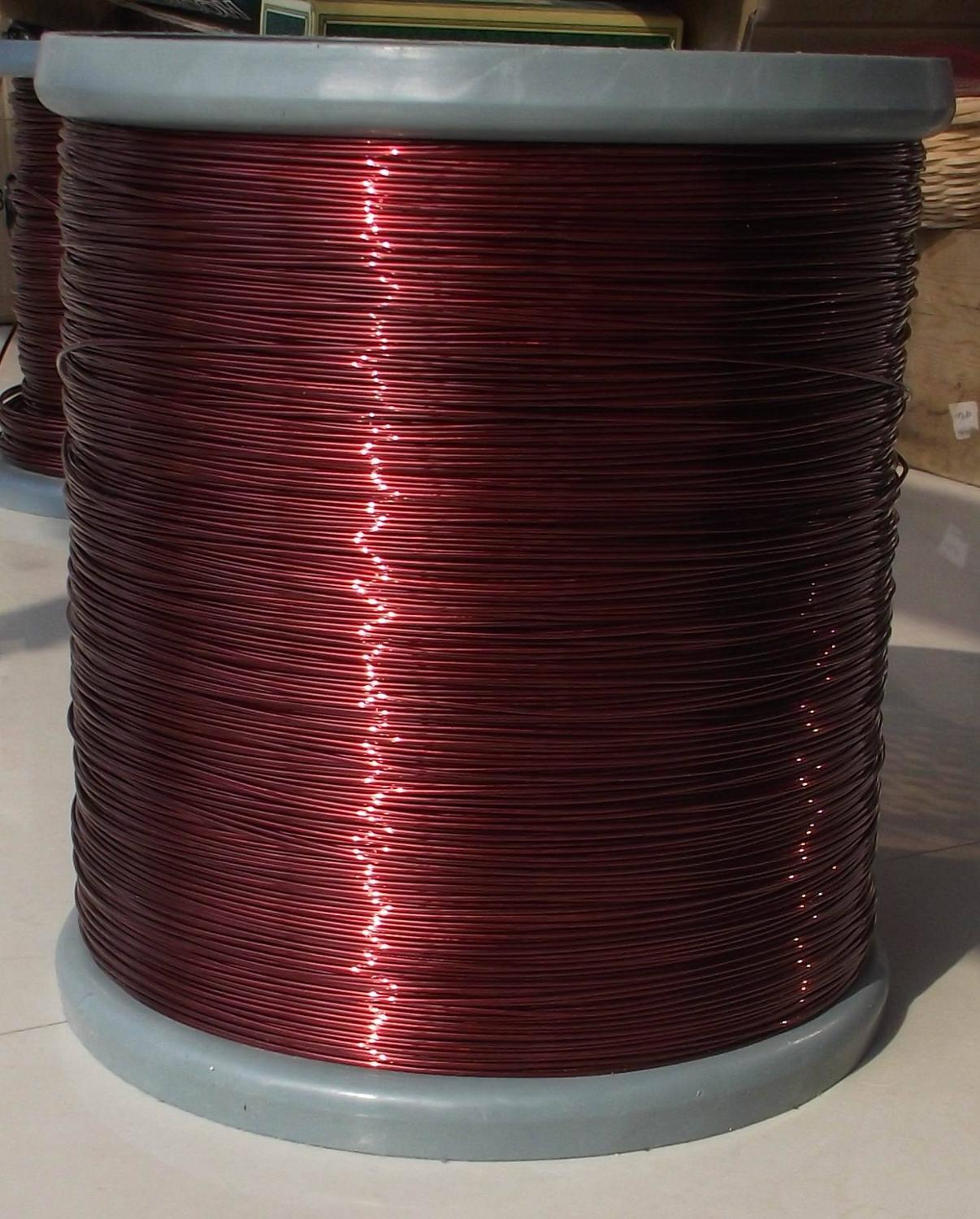 100 Meters/lot  0.9mm Mm QZY High-temperature Enameled Wire Polyester Imide Enamelled Round Copper Wire QZY-2-180