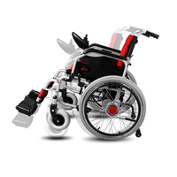 Folding Portable Cofoe Yixiang Electric Wheelchair Full Automatic Control Four Wheel Scooter For Old Man The