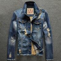 Jacket Men 2018 New Spring Winter Denim Jacket Men Fashion Jeans Jacket Casual Outerwear Coats Brand